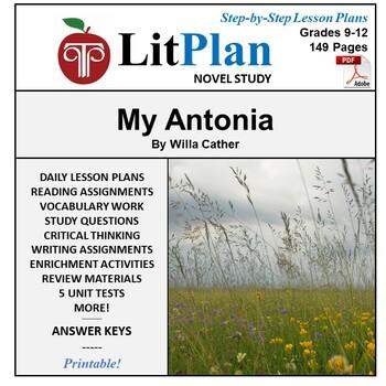 LitPlan Teacher Pack: My Antonia