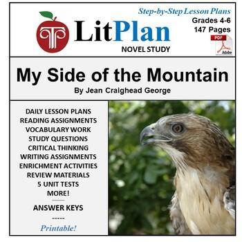 LitPlan Teacher Guide: My Side of the Mountain - Lesson Pl