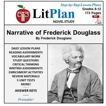 LitPlan Teacher Guide: Narrative of Frederick Douglass - Lesson Plans, Questions