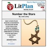 LitPlan Teacher Guide: Number the Stars - Lesson Plans, Questions, Tests