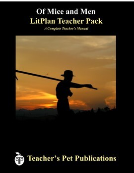 LitPlan Teacher Guide: Of Mice and Men - Lesson Plans, Questions, Tests