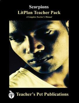 LitPlan Teacher Guide: Scorpions - Lesson Plans, Questions, Tests