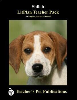 LitPlan Teacher Guide: Shiloh - Lesson Plans, Questions, Tests