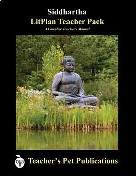 LitPlan Teacher Guide: Siddhartha - Lesson Plans, Questions, Tests