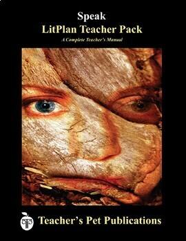 LitPlan Teacher Guide: Speak - Lesson Plans, Questions, Tests