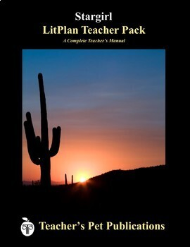 LitPlan Teacher Guide: Stargirl - Lesson Plans, Questions, Tests