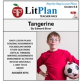 LitPlan Teacher Guide: Tangerine - Lesson Plans, Questions, Tests