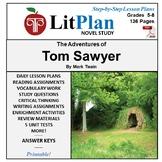 LitPlan Teacher Guide: The Adventures of Tom Sawyer - Lesson Plans, Questions...
