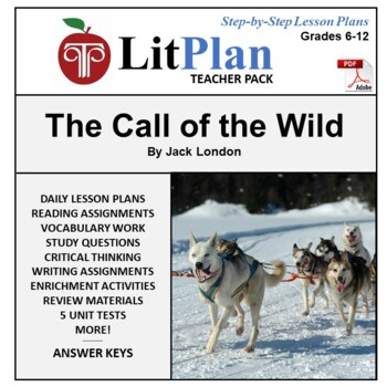 The call of the wild unit teaching resources teachers pay teachers tests litplan teacher guide the call of the wild lesson plans questions tests fandeluxe Image collections