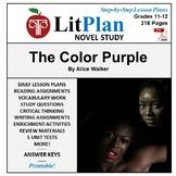 LitPlan Teacher Guide: The Color Purple - Lesson Plans, Qu