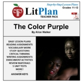 LitPlan Teacher Guide: The Color Purple - Lesson Plans, Qu