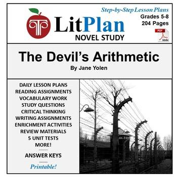 LitPlan Teacher Guide: The Devil's Arithmetic - Lesson Plans, Questions, Tests