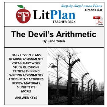 LitPlan Teacher Guide: The Devil's Arithmetic - Lesson Plans, Questions, Tests