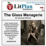 LitPlan Teacher Guide: The Glass Menagerie - Lesson Plans,