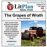 LitPlan Teacher Guide: The Grapes of Wrath - Lesson Plans,
