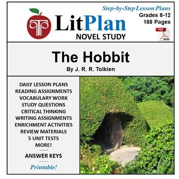 LitPlan Teacher Guide: The Hobbit - Lesson Plans, Questions, Tests