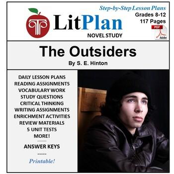 LitPlan Teacher Guide: The Outsiders - Lesson Plans, Quest