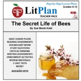 LitPlan Teacher Guide: The Secret Life of Bees - Lesson Pl