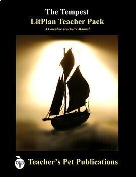 LitPlan Teacher Guide: The Tempest - Lesson Plans, Questions, Tests