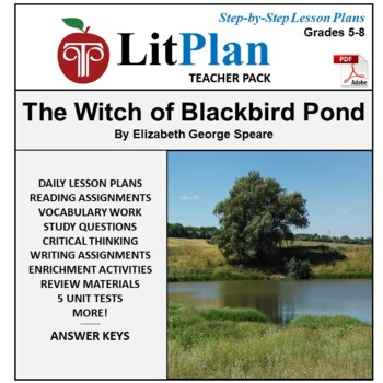 LitPlan Teacher Guide: The Witch of Blackbird Pond - Lesso