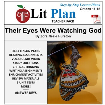 LitPlan Teacher Guide: Their Eyes Were Watching God - Less
