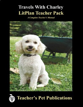 LitPlan Teacher Guide: Travels With Charley - Lesson Plans, Questions, Tests