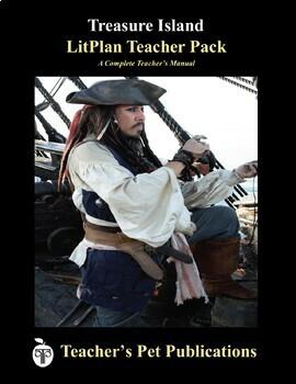LitPlan Teacher Guide: Treasure Island - Lesson Plans, Questions, Tests