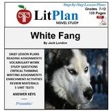 LitPlan Teacher Guide: White Fang - Lesson Plans, Question