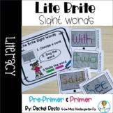 Lite Brite Sight Words