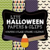 Lite Halloween Papers & Clipart