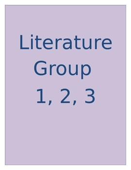 Literacture Group