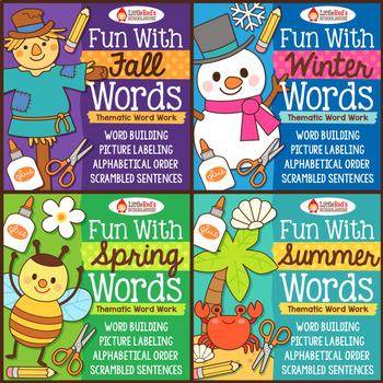 Word Work Bundle - Four Seasons