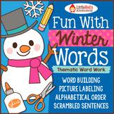 Winter Word Work