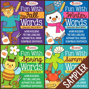 Word Work - Fun With Words Sampler