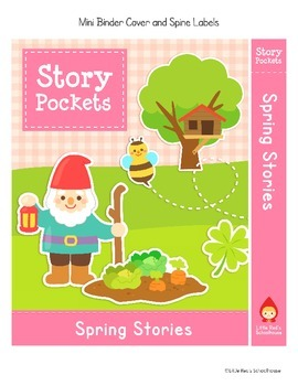 Spring Writing Prompts - Spring Story Pockets