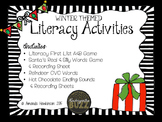 Literacy Activities: Winter Themed