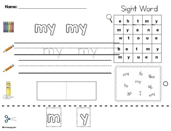 Literacy Activities (Wonders Unit 5)