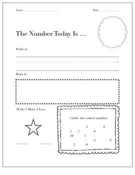Math Number Sense FREEBIE