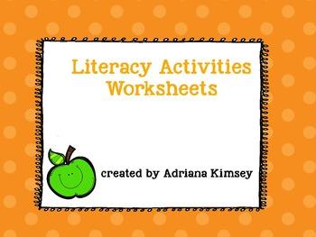Literacy Activities Worksheets