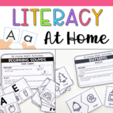 Literacy Activities at Home - Distance Learning