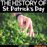 St. Patrick's Day Informational Reading Activity Pack