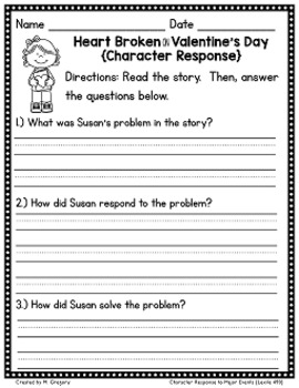 Literacy Activities for February (Easy Prep)