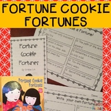 Fortune Cookie Fortunes: Literacy Activities
