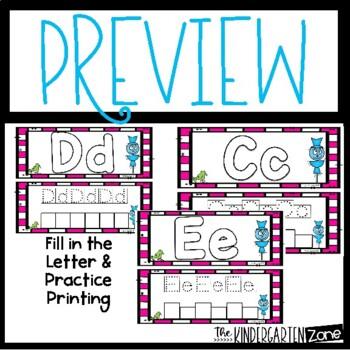 Literacy Activities for October