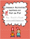 Literacy Activities inspired by Hop on Pop