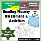 Literacy Activity Sheets for 1st Grade, Mae C. Jemison