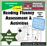 Literacy Activity Sheets for 1st Grade, Neil deGrasse Tyson