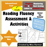 Literacy Activity Sheets for 3rd Grade, Condoleeza Rice