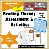 Literacy Activity Sheets for 3rd Grade, Mae C. Jemison
