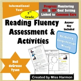 Literacy Activity Sheets for 3rd Grade, Neil deGrasse Tyson